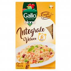 RISO GALLO BLOND INTEGRALE 1 KG X 12