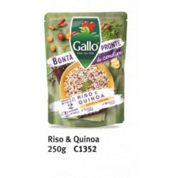RISO GALLO BONTÀ PRONTE QUINOA 250GR X6