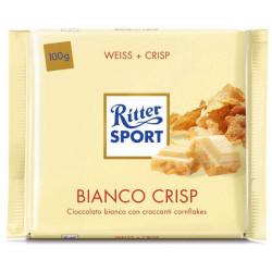RITTER SPORT BIANCO CRISP 100 GR X10 PZ