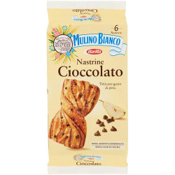 MULINO BIANCO NASTRINE CIOCCOL 240GR X12