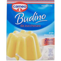 CAMEO BUDINO DA ZUCCH VANIGLIA 70GR X8