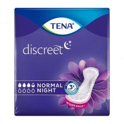 TENA DISCREET NORMAL NIGHT X6
