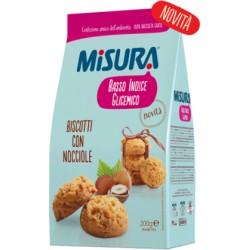 MISURA BISCOTTI NOCCIOLE GR200X12