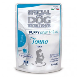 SPECIAL DOG EXCELLEN PUPPY TONNO 100GX24