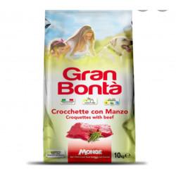 GRAN BONTA' CROCCANTINI CANE MANZO 10 KG