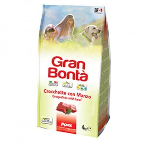GRAN BONTA' CROCCANTINI CANE MANZO 4KGX4