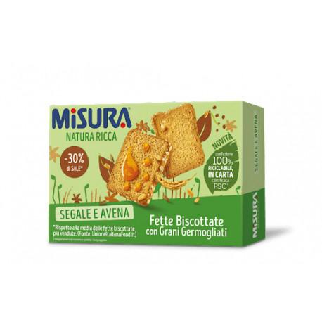 MISURA FETTE SEGALE AVENA 320GR X12