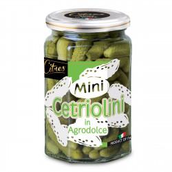 CITRES MINI CETRIOLINI AGRODOLC 290G X12