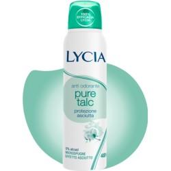 LYCIA DEO GAS PURE TALC ML150 X 12
