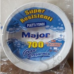 MAJOR PIATTI 700GR FONDI X 24