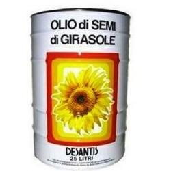 OLIO DE SANTIS GIRASOLE LATTA LT 25