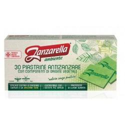 ZANZARELLA PIASTRINE AMBIENTE VERDI 30 P