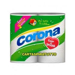 CORONA CARTASPIRATUTTO X 2 ROTOLONI X 12