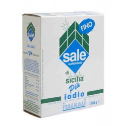 SALE FINO + IODIO 1 KG X 12 PZ