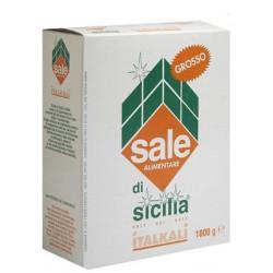 SALE DI SICILIA GROSSO 1KG X 12
