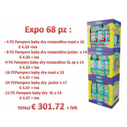 PAMPERS PANNOLINI EXPO X 68 PZ