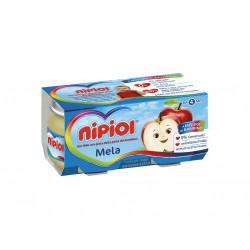 NIPIOL MOGENEIZZATO MELA 2X80GR X 12