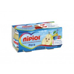NIPIOL OMOGENEIZZATO PERA 2X80GR X12