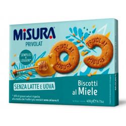 MISURA BISCOTTI AL MIELE GR400X12