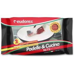 EUDOREX SPUGNA PADELLE E CUCINA X14
