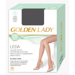 GOLDEN LADY COLLANT LEDA 2PAIA X 10