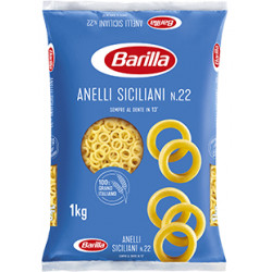 PASTA BARILLA KG 1X 24 ANELLI SICILIANI