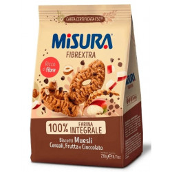 MISURA BISCOTTI MUESLI GR230 X 10
