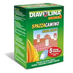 DIAVOLINA SPAZZACAMINO 50GR X6