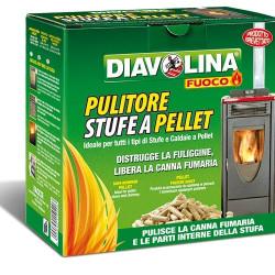 DIAVOLINA PELLET SPAZZACAMINO X10