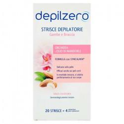 DEPILZERO STRISCE GAMBA BRACCIA 20PZX12
