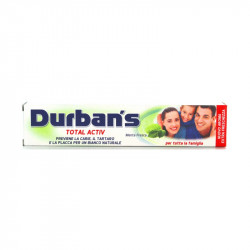 DURBAN'S DENTFRICIO TOTAL ACTIV 75ML X24