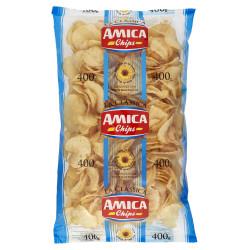 AMICA CHIPS PATATINE CLASSICHE 400GR X6