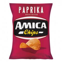 AMICA CHIPS PATATINE PAPRIKA 25GR X28